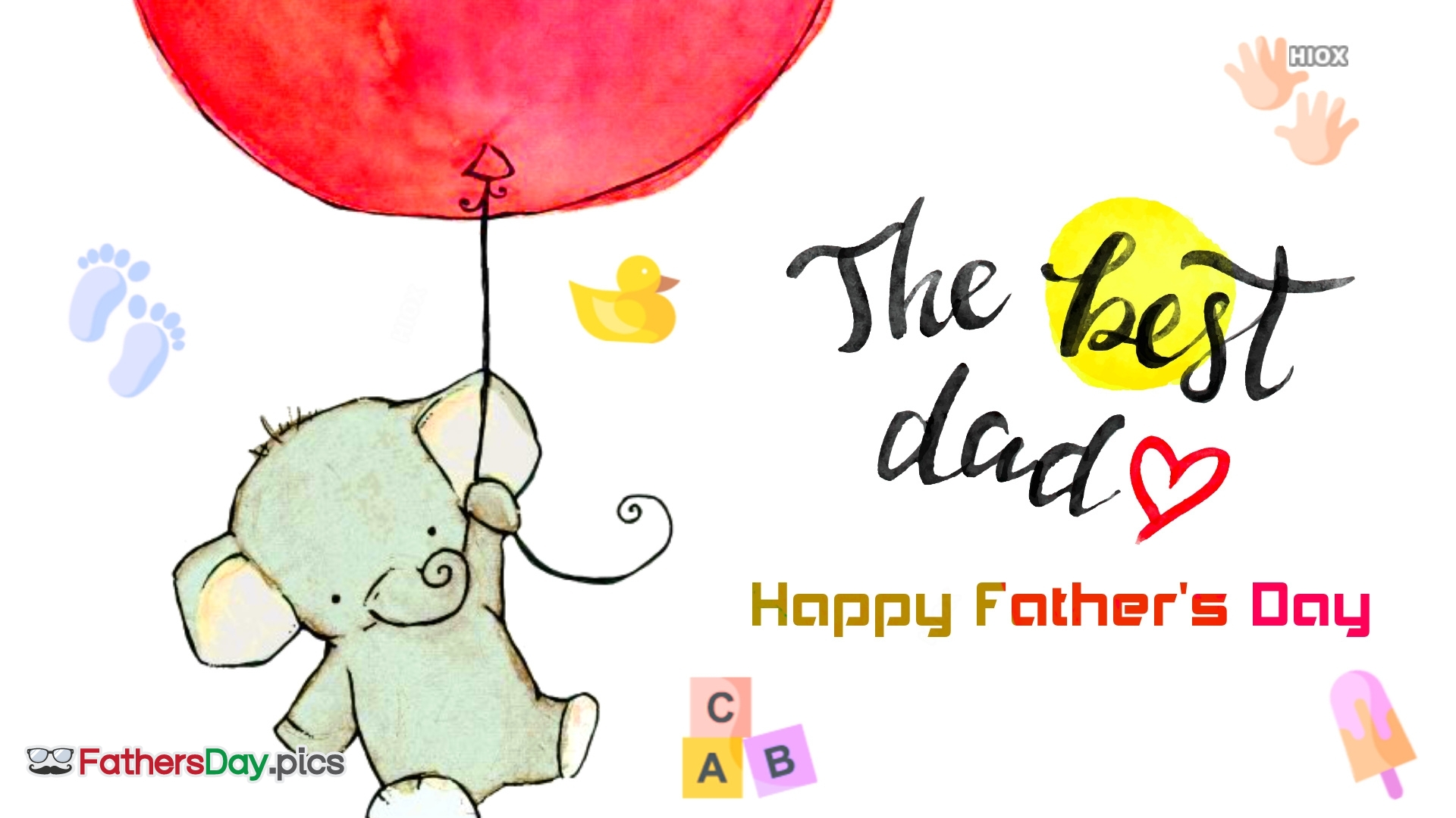 Fathers Day Greetings Card