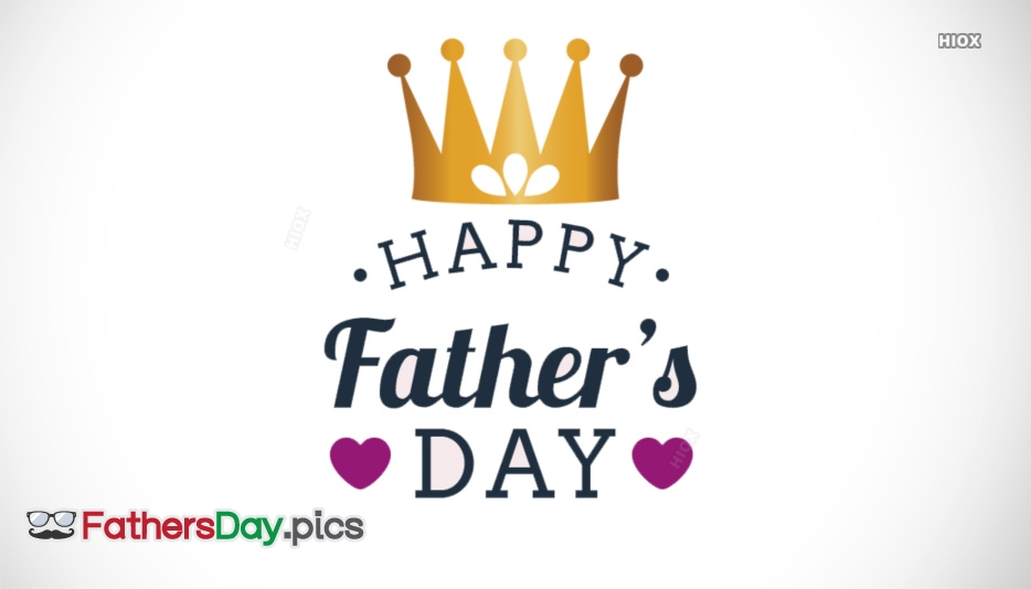 Happy Fathers Day HD Crown Wallpaper