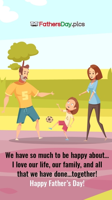 Happy Fathers Day Husband Quotes