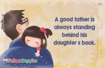 Good Father Quotes and Sayings Images