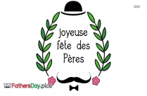 Happy Fathers Day In French
