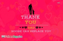 Thank You Dad Quote
